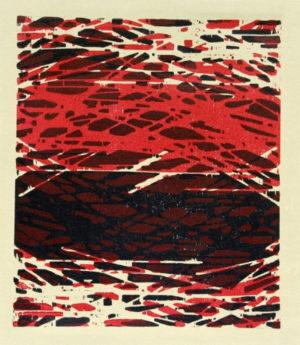Friedemann Gottschald   Farbholzschnitt auf Leinwand   Maße: 49 x 34 cm   Mindestgebot: 200 Euro   Kontakt: f.e.gottschald@web.de