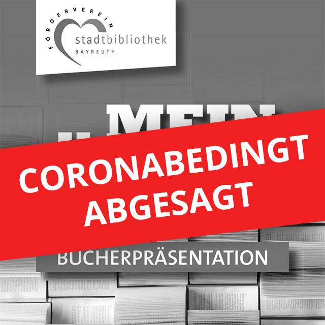 Mein Buch – Coronabedingt abgesagt