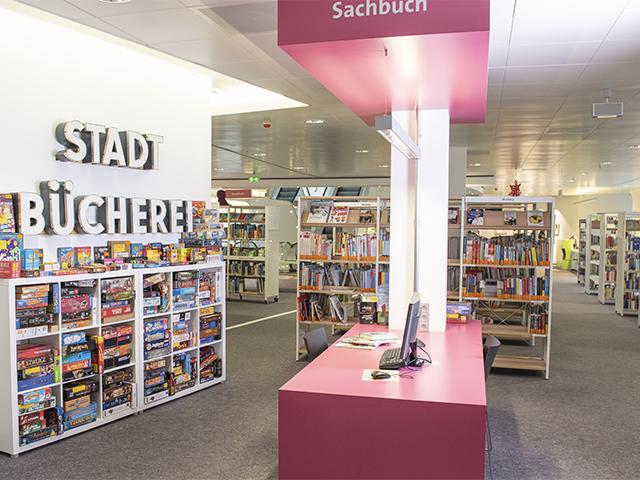 Stadtbibliothek 21 Innenansicht
