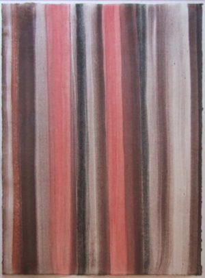 Titel: A.d. Zyklus Felder   Künstler: Helmut Dirnaichner   Bildformat: 80 x 61 cm   Technik: Aquarell auf Bütten   Jahr: 2014   Preis: 900€   Katalognummer: 101  