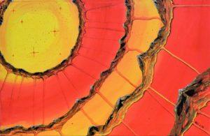 Titel: World around III | Künstler: Birgit Noll | Bildformat: 40 x 60 cm | Technik: Acryl, Leinwand | Preis: 180 € | Katalognummer: 128