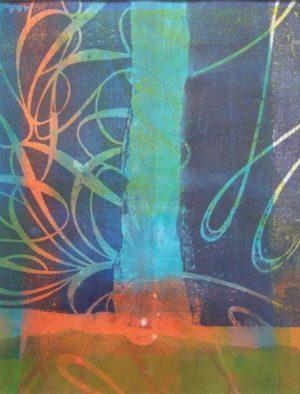 Titel: o.T.   Künstler: Margit Rehner   Bildformat: 61 x 51 cm   Technik: Druck Unikat   Jahr:   Preis: 400€   Katalognummer: 28  