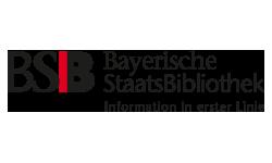 Logo Bayerische Staatsbibliothek