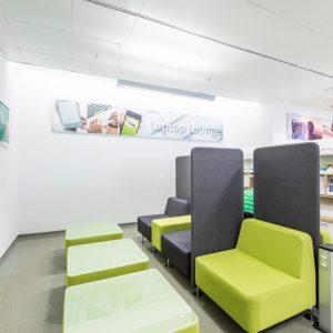 RW21 Stadtbibliothek – EG Laptoplounge