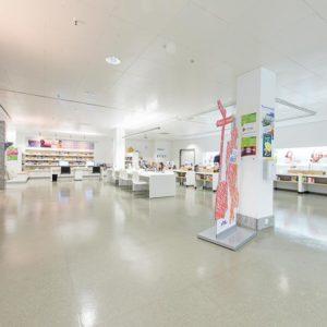 RW21 Stadtbibliothek – EG Markplatzbereich