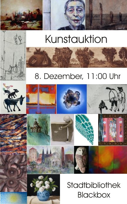 Flyer Kunstauktion